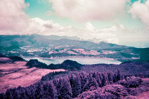 Around the World in Analogue: Azores in Violet