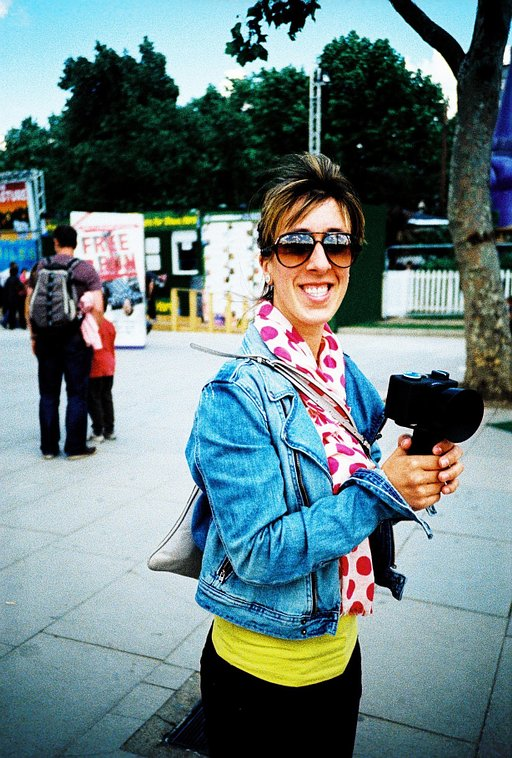 Lomowalk in London: Discovering Design Festival with the Spinner 360