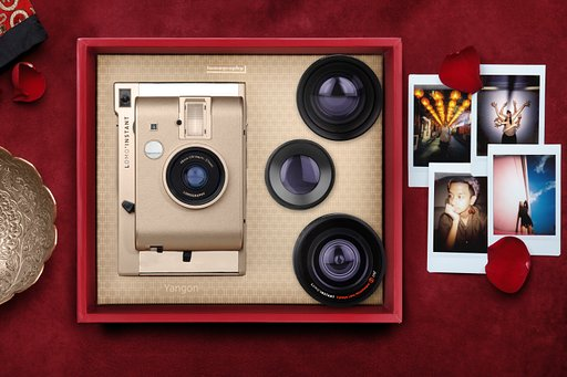 Say hello to the latest golden child of the Lomo'Instant family, the Lomo'Instant Yangon!