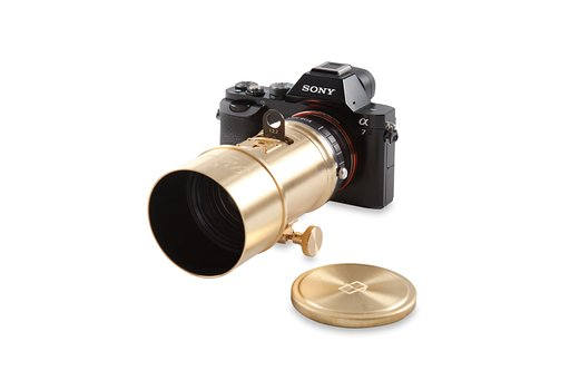 The Sony A7 Camera Wears the Petzval Art Lens!