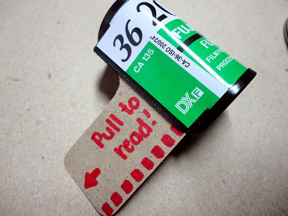 Surprise Your Valentine with a Film Canister Love Letter!