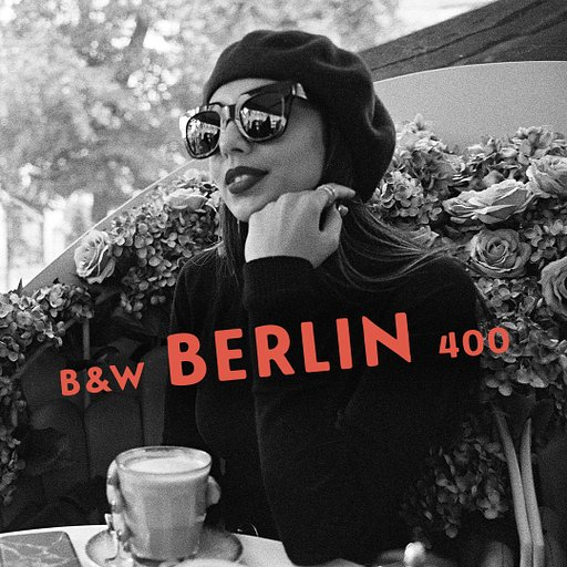 Capture the Drama of Monochrome with the Limited Edition B&W 400 35 mm Berlin Kino Film!