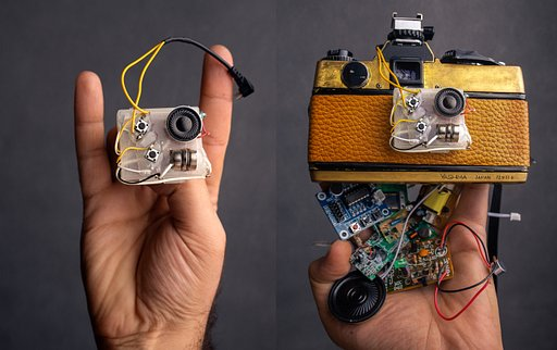 A Camera Made of Talking Doll Parts, by Alireza Rostami