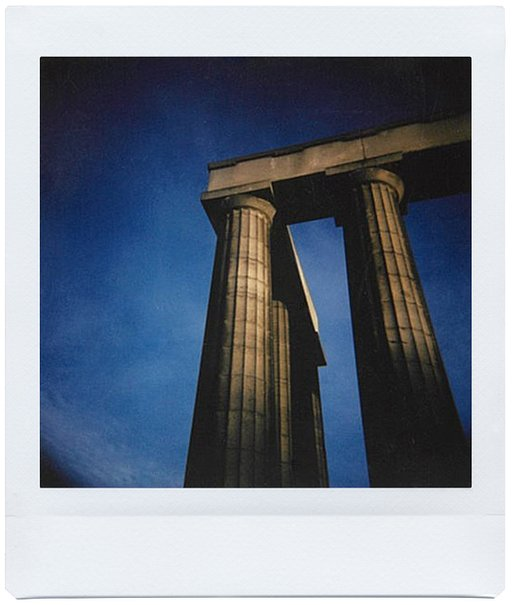 A Roadtrip Around Scotland with Hannah Bailey and the Diana Instant Square