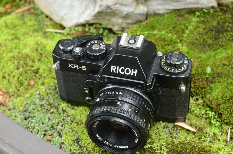 My Father's Camera: Ricoh KR-5