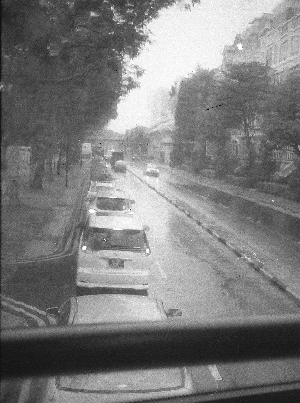 My Analogue Days: Going to Work on a Rainy Day