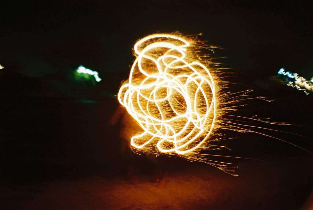 Light Painting: Electric Force