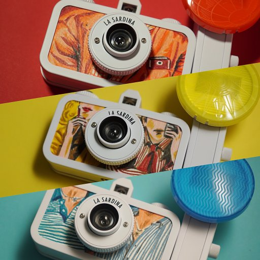 Artists Express Their LomoLove with La Sardina DIY
