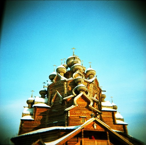 Stunning shots of architecture taken using the Lomography XPro Slide 200 120