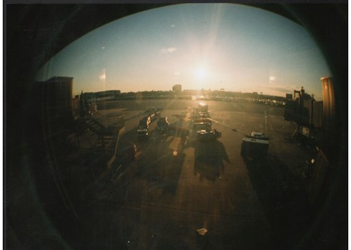 Love at First Lomo: A Romantic City Break with My Pearl Blue FishEye