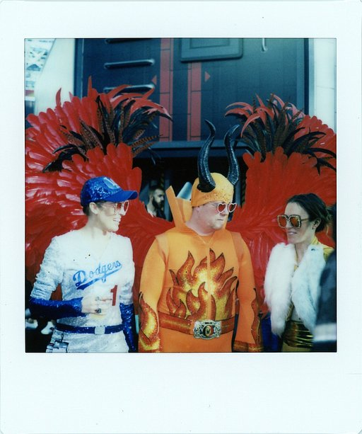 New York Comic Con met de Lomo' Instant Square