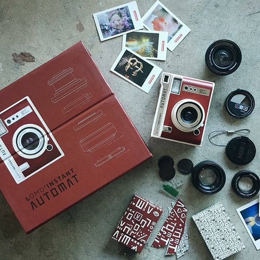 Welcome the Lomo'Instant Automat!