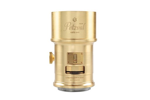New Petzval Lens - Brass - Canon Mount