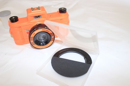 Homemade Splitzer & Cokin Filter Holder for the Sprocket Rocket