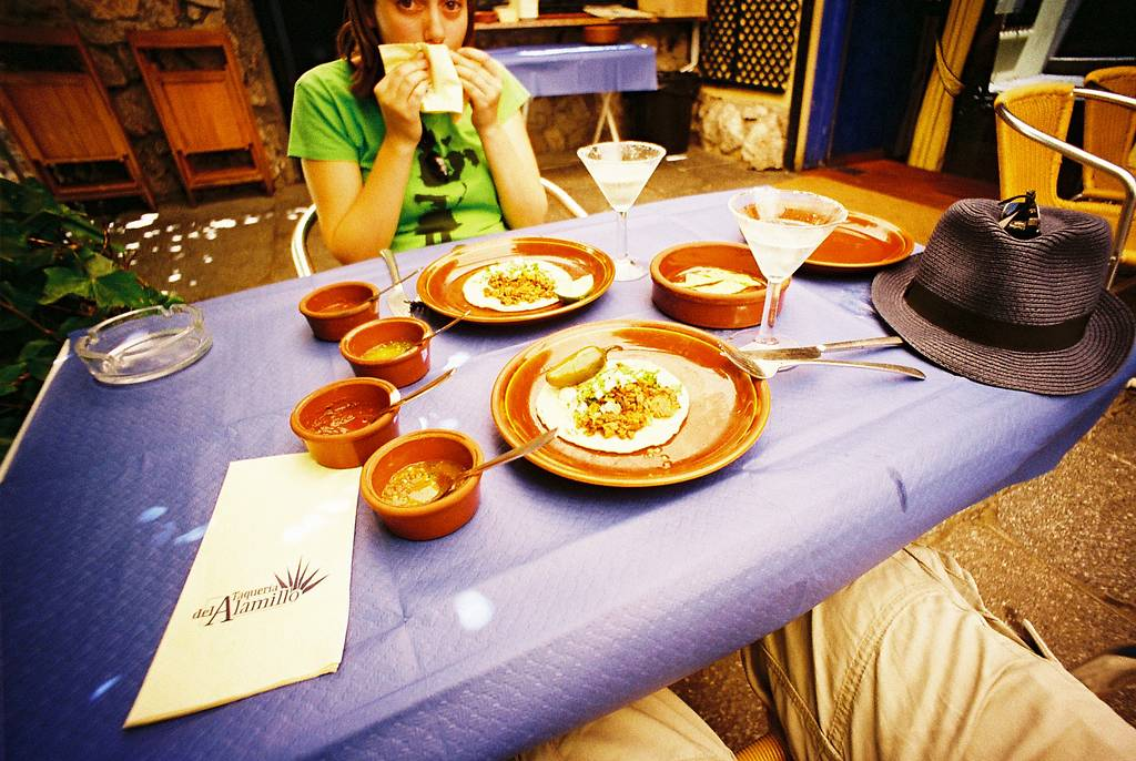 Taqueria del Alamillo: Have Tacos and Margaritas Discreetly in the Old Part of Madrid