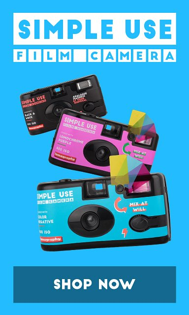 Nieuw: de Lomography Simple Use Camera!