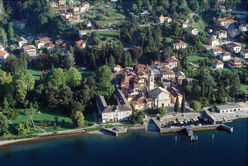 A Salute to the Masters: Lake Como from a Seaplane (A Tribute to Yann Arthus-Bertrand)