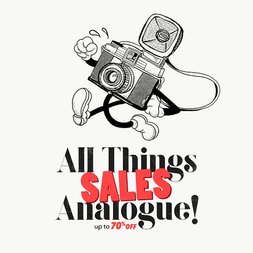 All Things Analogue are on sale!