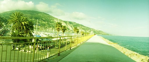 Menton, A Border Town of The Cote d'Azur
