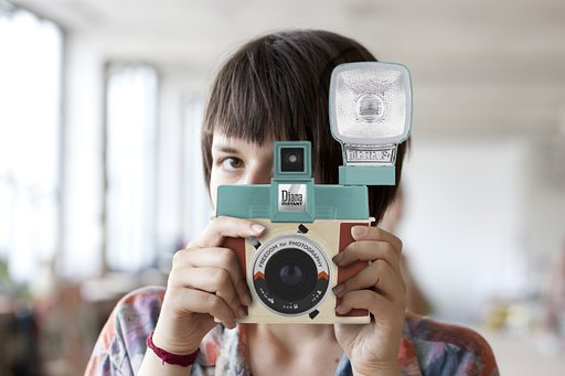 Share the Diana Instant Square Magic and Win a Camera!