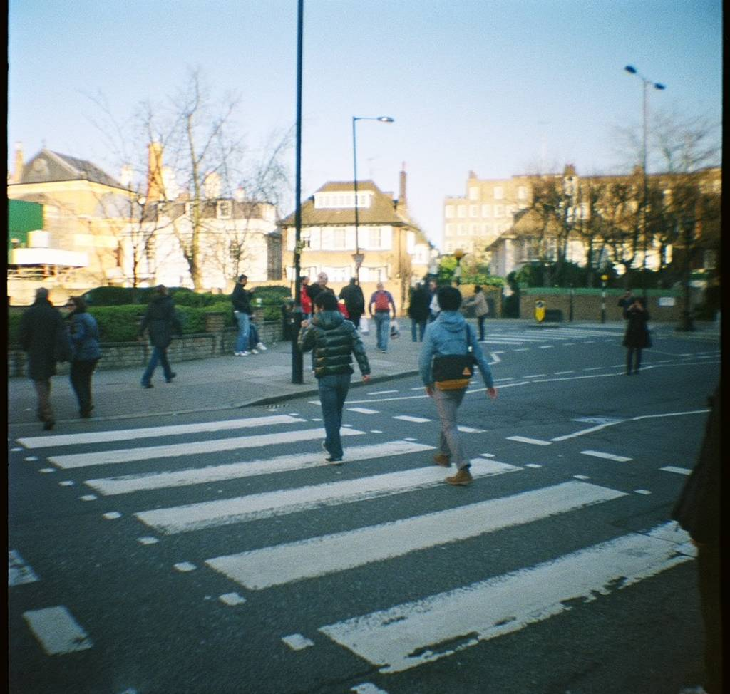 Abbey Road - A Location with a Post Code Beginning with NW