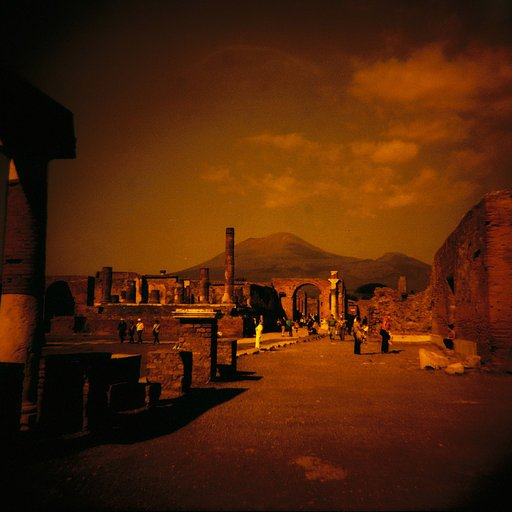 Ancient Ruins through the Lomo Lens: Pompeii