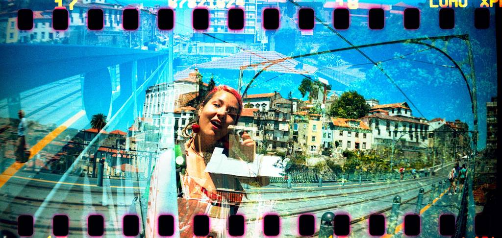 Lively Urban Scenes Shot with the Sprocket Rocket