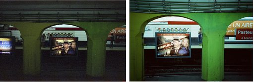 Subterranean Explorations: Comparing Cinestill 800T to Fuji 800 Inside the Buenos Aires Underground