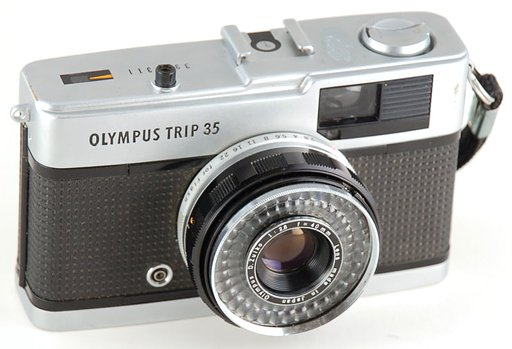 Olympus Trip 35 - She Aint a Beauty But Hey; She's Alright