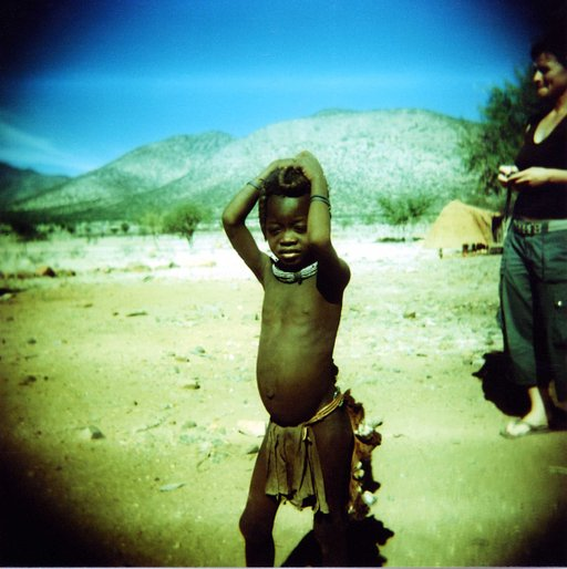 Himba Village Ancient Living