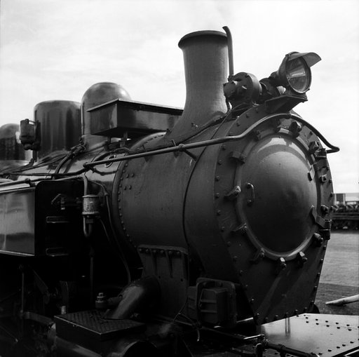 Glenbrook Vintage Railway in Black and White