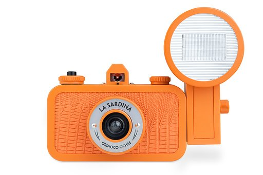 Oranje boven in de Lomography Online Shop