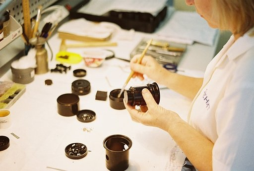 The New Petzval Lens Production Process in Photographs