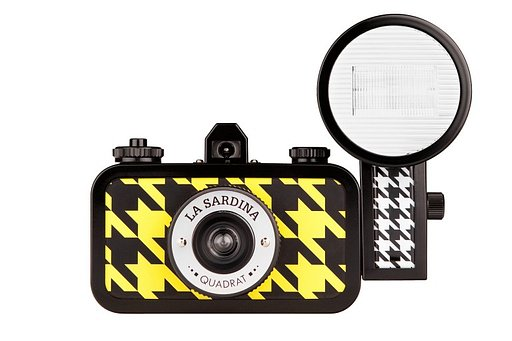 Cámara La Sardina & Flash Quadrat