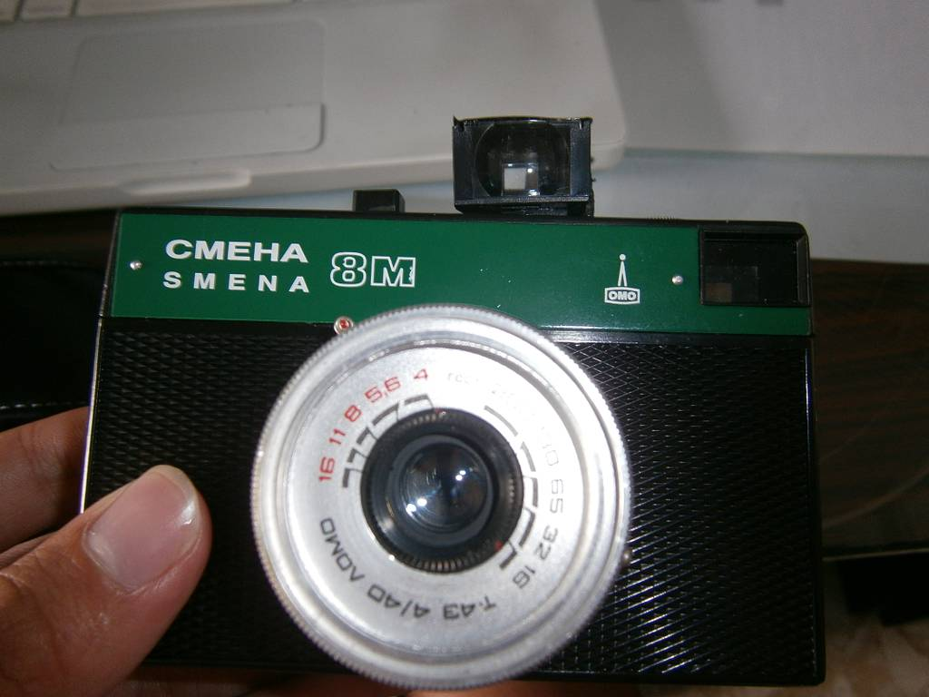 Viewfinder From a Disposable Film Camera