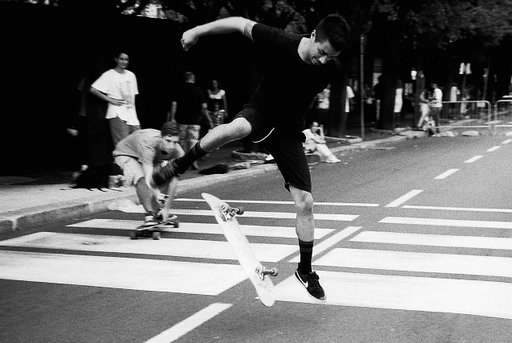 A Salute to the Masters: Skateboarding in Como (A Tribute to Bill Eppridge)