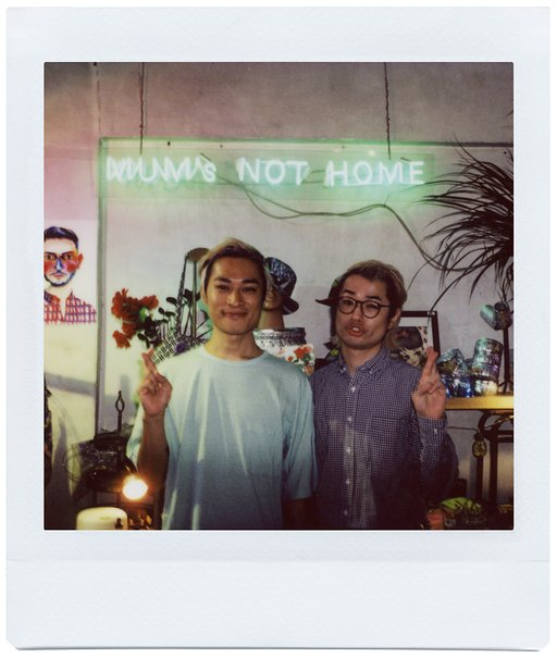 A Day with Mum's Not Home and the Lomo'Instant Square