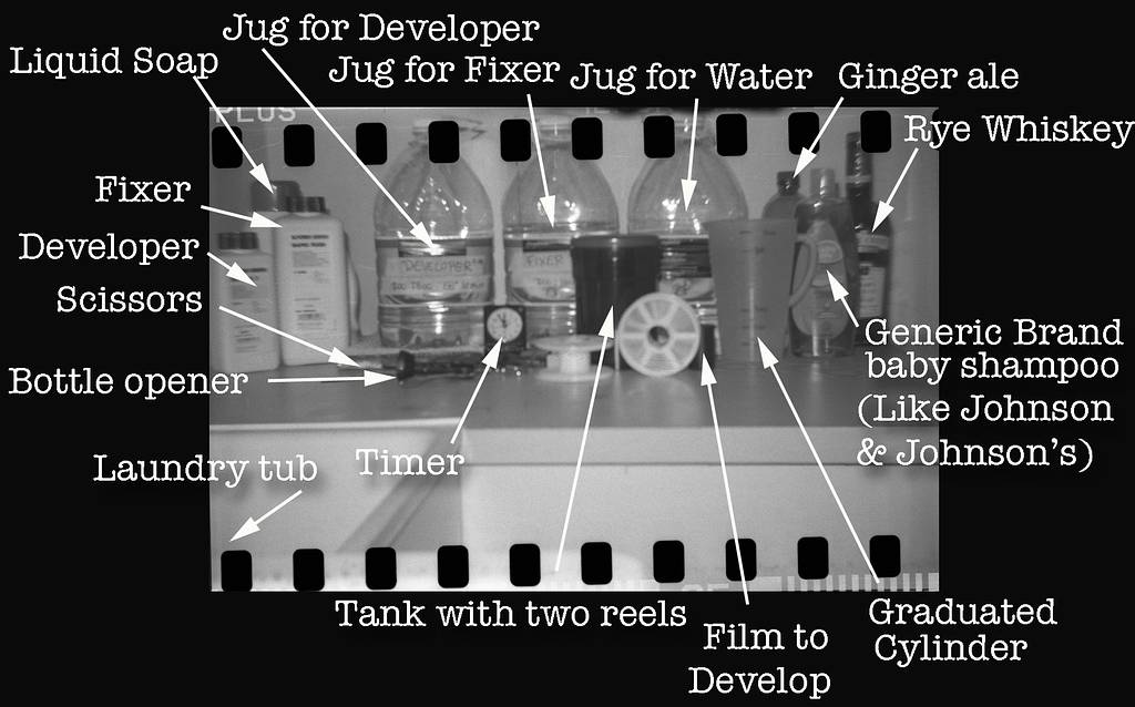 A Beginners Guide to Cheap and Easy Developing of Black and White Film at Home