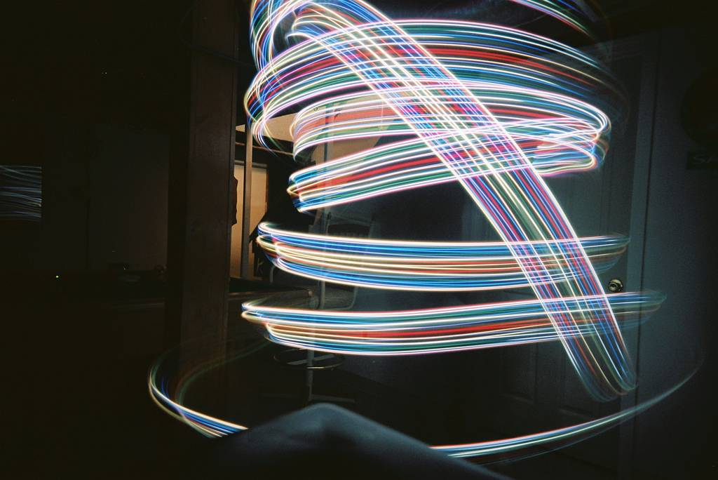 Light Spirographs