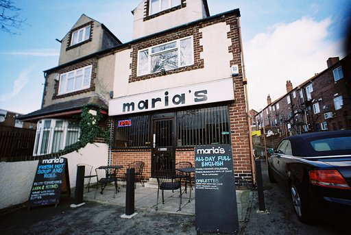 A Little Light Lunch at Maria's, Leeds