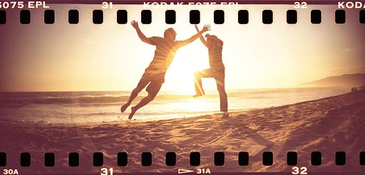 Perfect Combination: The Sprocket Rocket, a Forgotten Roll of Kodak EPL, and the Golden Hue of the Setting Sun