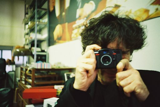 What's Neil Gaiman Doing at Lomography HQ?