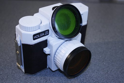 Use Filters on your Holga Flash