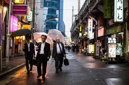 David Tesinsky's Visual Chronicle of The Salaryman