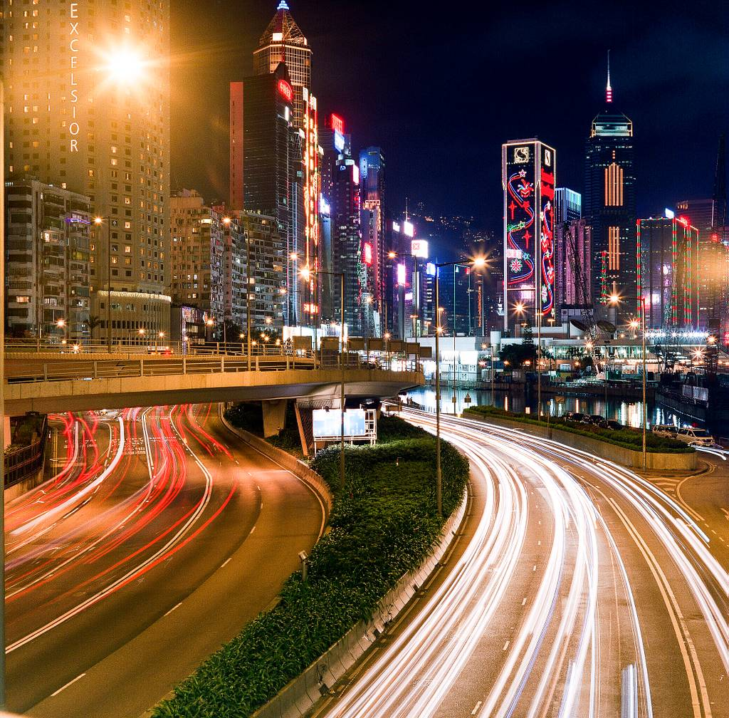 Long Exposures and Lomography: Shooting Light Trails in Hong Kong