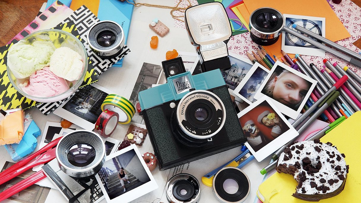 Diana Instant Square Kickstarter project
