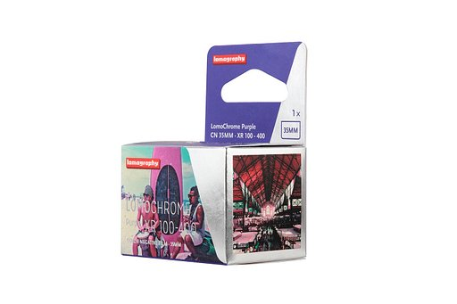 Add Color to your Analogue Life with the New LomoChrome Purple