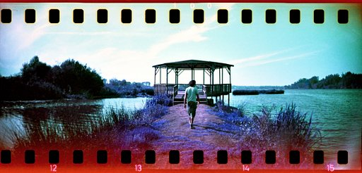 Dazzling Purple Panoramas Taken with the Sprocket Rocket