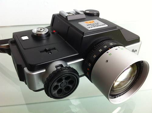 After a 110 SLR? Consider the Minolta 110 Zoom SLR
