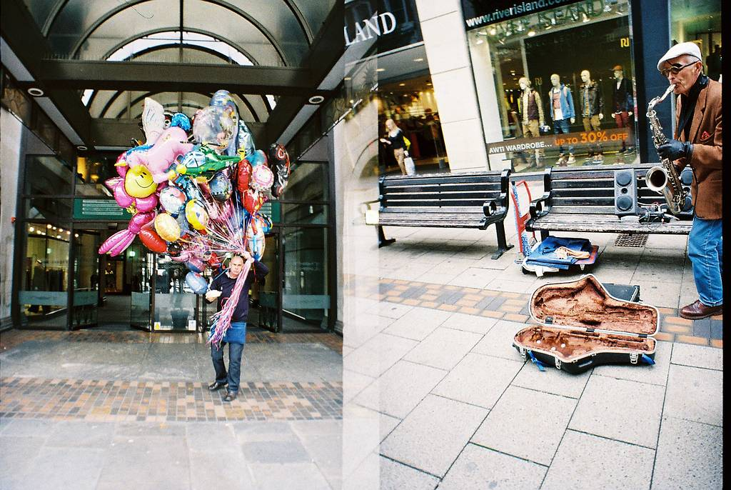 Portraits of Strangers in London and Nottingham